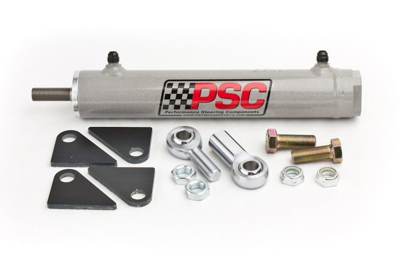 Single Ended Steering Cylinder Kit, 1.75 Inch Bore X 8.0 Inch Stroke X 0.750 Inch Rod PSC Performance Steering Components