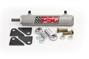 Single Ended Steering Cylinder Kit, 1.75 Inch X 6.0 Inch X 0.75 Inch Rod PSC Performance Steering Components