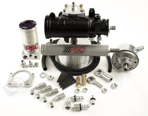 Cylinder Assist Steering Kit, 1980-87 GM 4WD with Crossover Steering Kit PSC Performance Steering Components