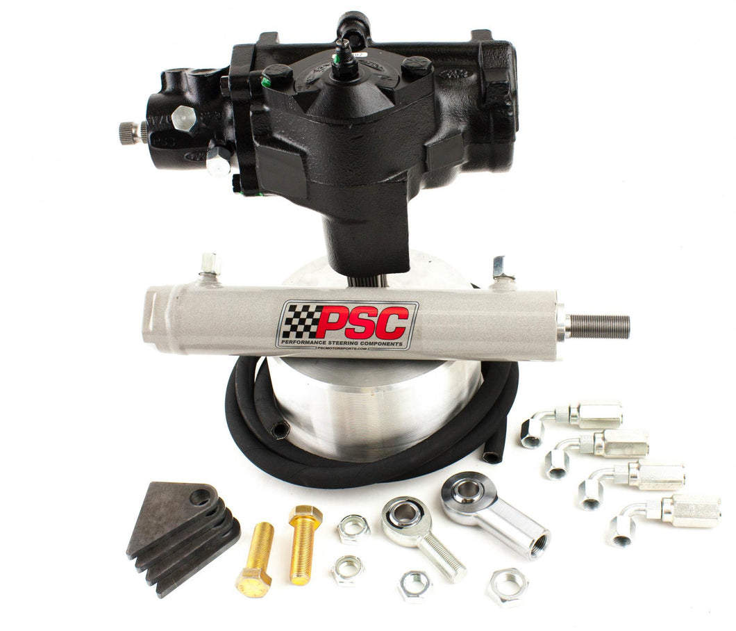 Cylinder Assist Steering Kit, 1980-96 Ford Truck with Gas Engine PSC Performance Steering Components