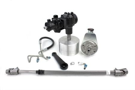 Manual-To-Power Steering Conversion Kit, 1972-75 Jeep CJ PSC Performance Steering Components