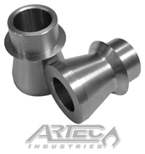Load image into Gallery viewer, Wide 3/4 Inch High Misalignment Spacers SS 9/16 Inch Pair Artec Industries