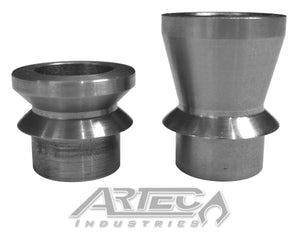 Wide 3/4 Inch High Misalignment Spacers SS 9/16 Inch Pair Artec Industries