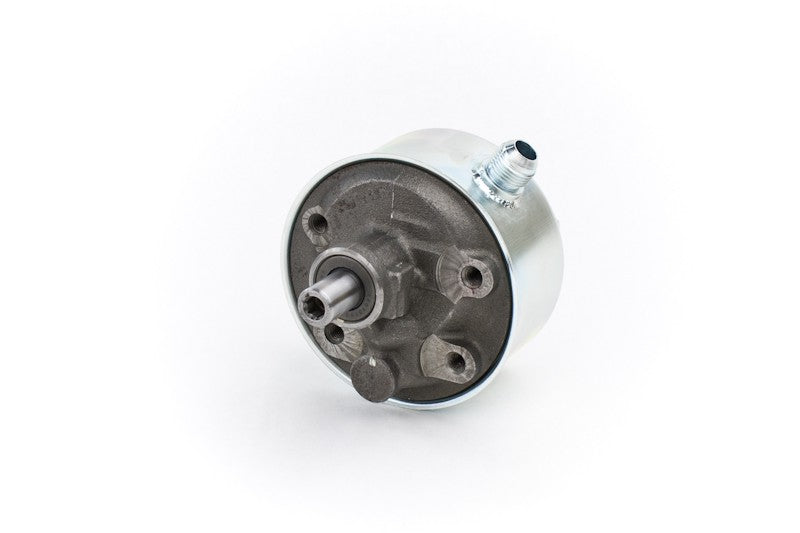 High Performance Remote-Fill Power Steering Pump, P Pump 5/8 SAE Inverted Flare Press 10AN Feed PSC Performance Steering Components