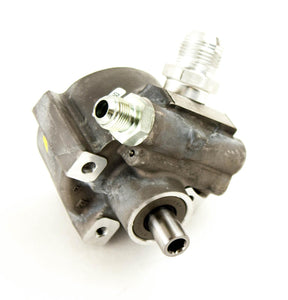 Power Steering Pump  CBR Race Pump No Flow Control -8AN Pressure and -12AN Suction XR Series PSC Performance Steering Components PSC Performance Steering Components
