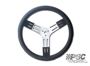 13 Inch Aluminum Steering Wheel Black PSC Performance Steering Components