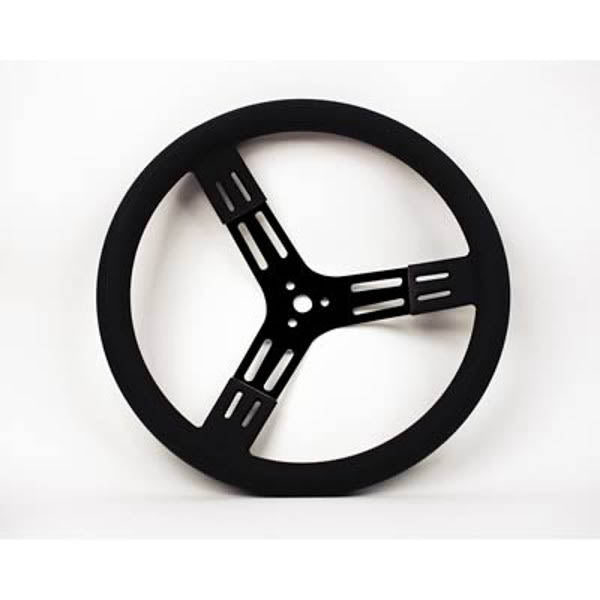 14 Inch Aluminum Steering Wheel Black PSC Performance Steering Components