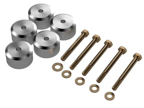 Jeep TJ Body Mount Spacer 1.25 Inch Kit 97-06 Wrangler TJ For Use With Part Number TJ2010 Artec Industries