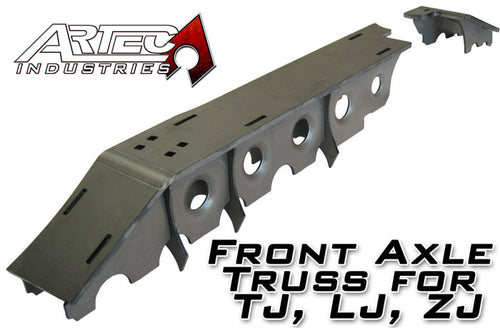 D30 Front Axle Truss For TJ LJ ZJ Artec Industries