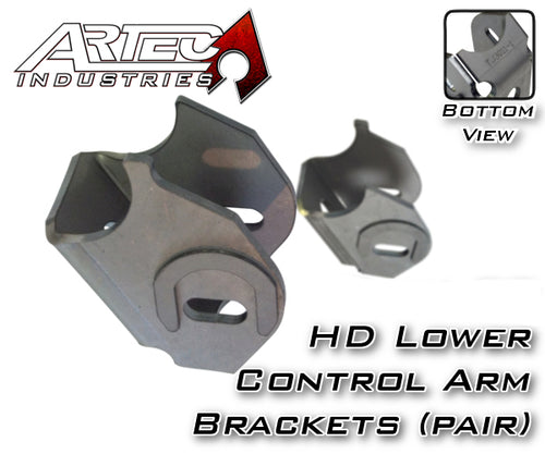 Dana 30 HD LCA Brackets CAM Slot W/Horseshoe Artec Industries