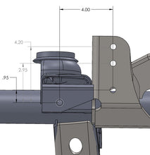 Load image into Gallery viewer, Raised Tracbar Bracket For TJ Front Axle Artec Industries