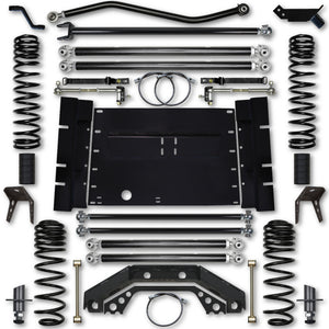 Rock Krawler TJ 5.5 Inch X Factor Long Arm 5 Inch Stretch Lift Kit 97-02 Wrangler