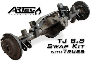 TJ 8.8 Swap Kit W/Truss 97-06 Wrangler TJ Artec Industries