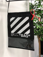 Off-white inspired bag