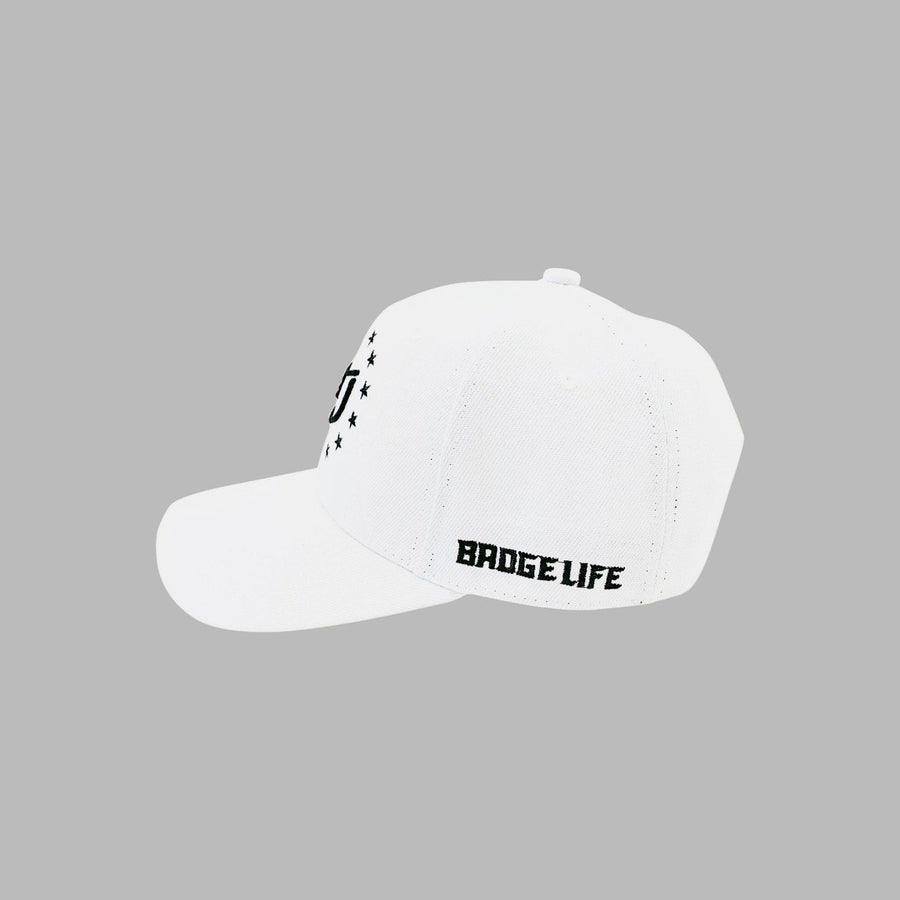 NEW! Freedom White Hat - The Badge Life