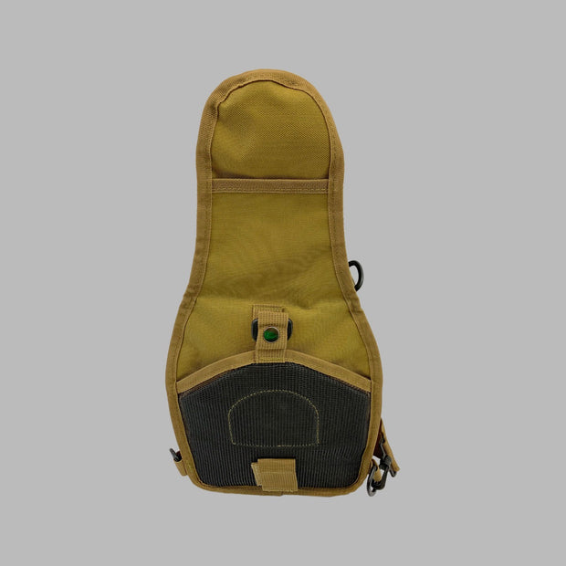 "Tan MOLLE ""Go"" Bag - The Badge Life"