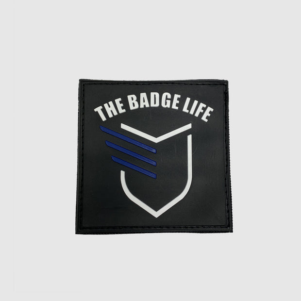 Big Thin Blue Line Patch - The Badge Life