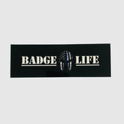 Thin Blue Line Stickers Set - The Badge Life