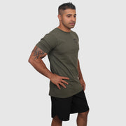 Military Green Shirt - The Badge Life