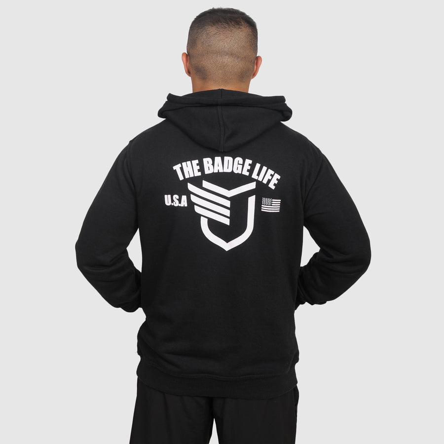 Performance Hoodie - The Badge Life