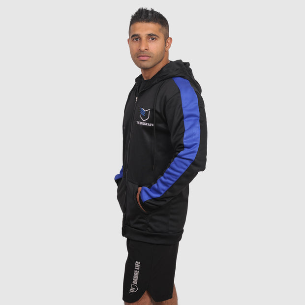 Thin Blue Line Zip-up Jacket - The Badge Life