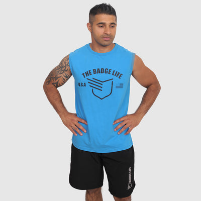 Warrior Tank Top - The Badge Life