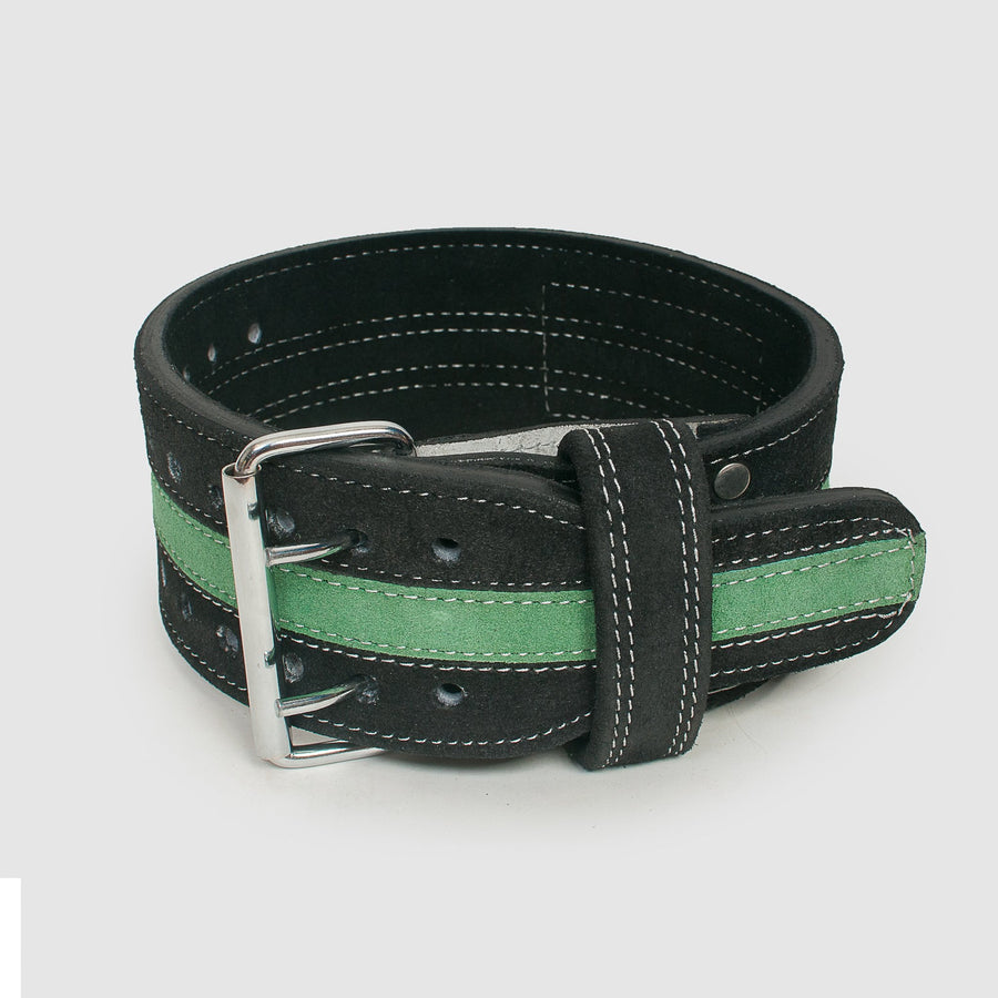 Thin Green Line Powerlifting Belt - The Badge Life