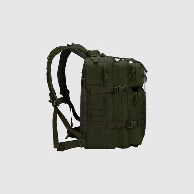 Versatile 45L Backpack Army Green - The Badge Life