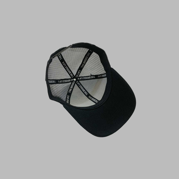 NEW! Badge Life Trucker Hat Black - The Badge Life