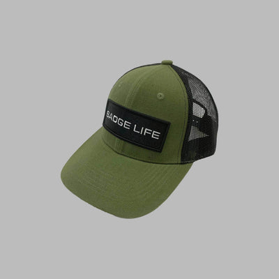NEW! Badge Life Trucker Hat Green - The Badge Life