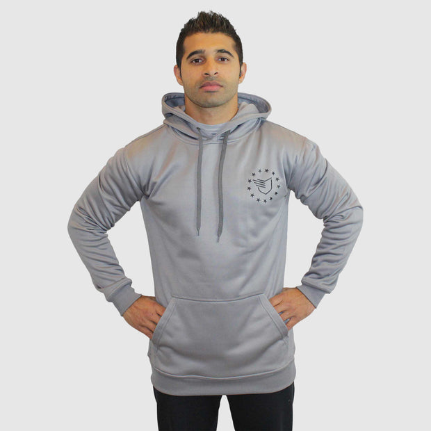 NEW! Freedom Hoodie™ V2 Space Gray - The Badge Life