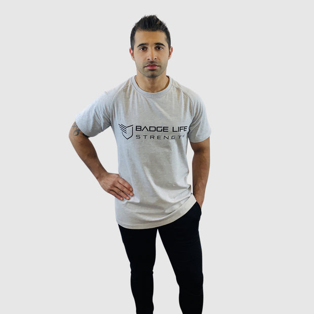 NEW! Barcode Identity Strength Tee - The Badge Life