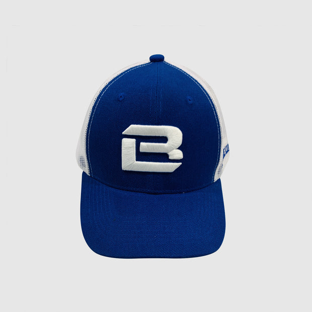 Badge Life Initials Hat Blue - The Badge Life