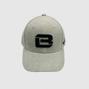 Badge Life Initials Hat Heather Grey - The Badge Life