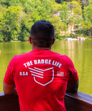 Red Friday Shirt - The Badge Life