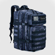 Versatile 45L Backpack Camo - The Badge Life