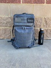 Versatile 45L Backpack Gray - The Badge Life