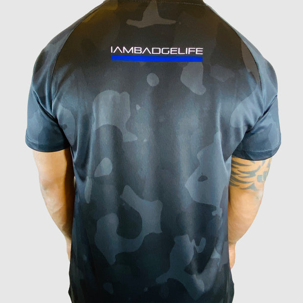 NEW! 247365 Black Camo - The Badge Life