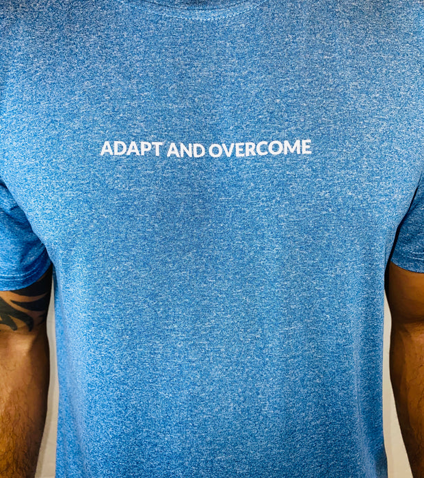 NEW! Adapt and Overcome Heather Blue - The Badge Life