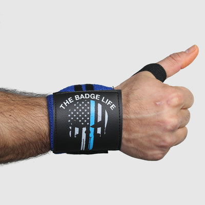 Punisher Heavy Duty Wrist Wraps Set - The Badge Life