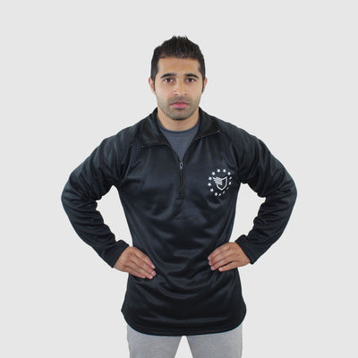 NEW! Freedom Zip-Up Jet Black - The Badge Life