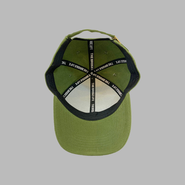 Green Badge Life Dad Hat - The Badge Life