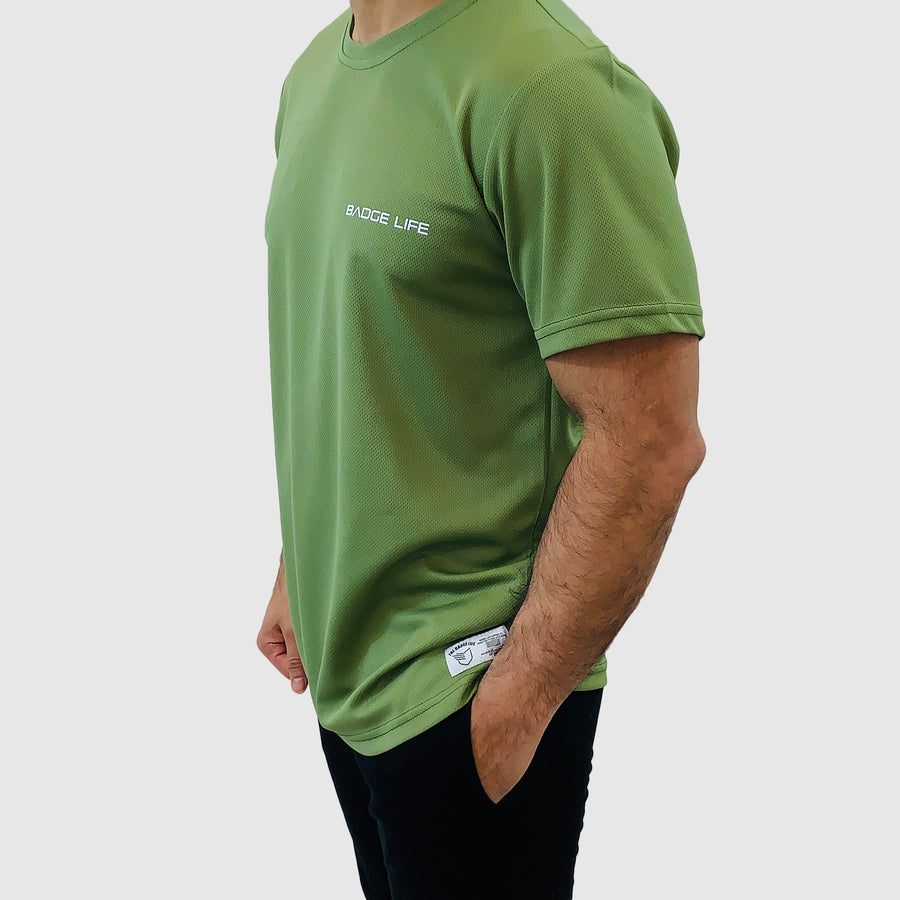Green Ventilation Cool Shirt - The Badge Life