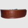 Never Settle Brown Weightlifting Belt