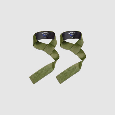 Lifting Straps - Green - The Badge Life