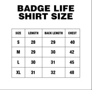 Recharge T-Shirt - The Badge Life