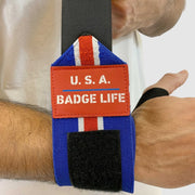 USA Heavy Duty Wrist Wraps Set - The Badge Life