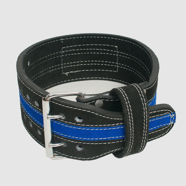 Thin Blue Line Powerlifting Belt - The Badge Life