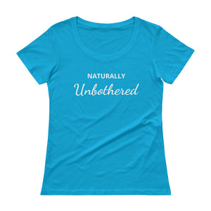 Unbothered Scoopneck Tee