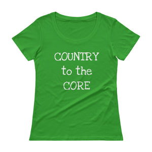 Core Country Scoopneck Tee